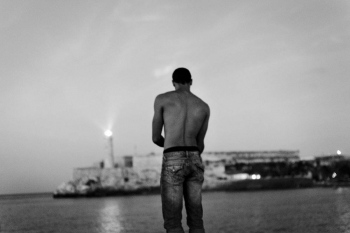 looking beyond the light house , cuban photography fine art by louis alarcon
