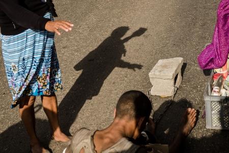 pilgrimages in a religion phototour in cuba , Saint Lazarus