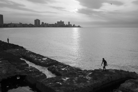 A great view of malecon in Havana in my phototour of photogrpahy in cuba