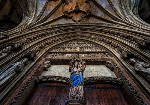 """Catedral de Santa María: """"Abierto por obras"""""""