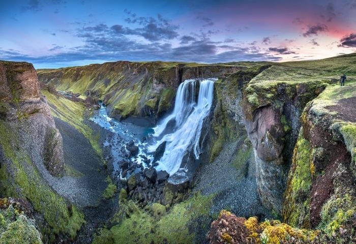 Fagrifoss. Islandia