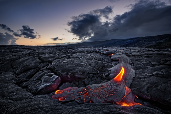 Lengua de fuego. Hawaii