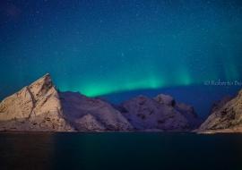 La aurora verde