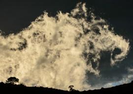 La nube rodante. Serra de Vandellòs