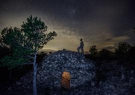 Starry selfie. Montroig del Camp. Tarragona