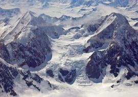 Glaciar en el Parque Nacional Kluane. © Olalla Bueno