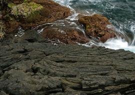 Lavas. Areia Larga. Isla de Pico