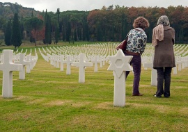 Memorial y Cementerio Americano  de Florencia