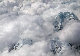 Nevado Salcantay. Los Andes