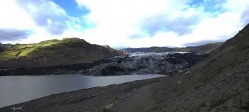 PANORAMICA DE LA GELERA DE SÓLHEIMAJÖKULL – SUD D'ISLANDIA