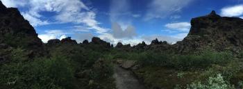 PANORAMICA DE DIMMUBORGIR–  NORD D'ISLANDIA – VOLTANS DEL LLAC MYVATN