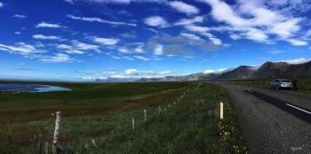 PANORAMICA DEL CRATER SNAEFELLSJÖKULL/JULIO VERNE –  PENÍNSULA DE SNAEFELLSNES  - OEST D'ISLANDIA