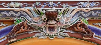 CREACIÓ IMAGINARIA A LES TEULADES DEL PALAUS CIUTADELLA (Kinh Thanh)  -HUE