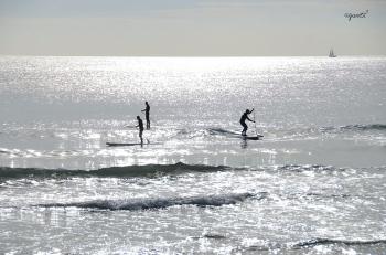 contrallum a les platges de Sitges - comarca del GARRAF