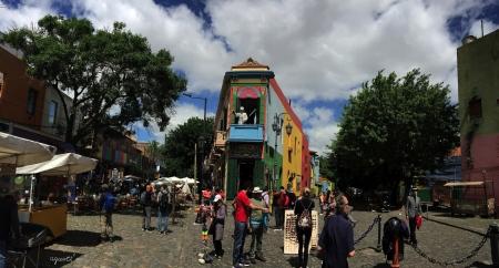 El Caminito barrio de Buenos Aires - ARGENTINA