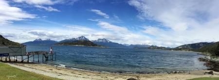Estafeta oficial del Correo Postal Argentino en el Fin del Mundo! Parque Nacional Tierra del Fuego - USHUAIA - ARGENTINA