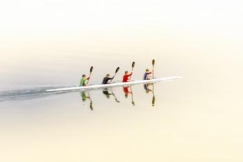 Sobre el agua- Manuel Pascual Bonaque