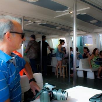 Paseo en barco por la ría de Huelva