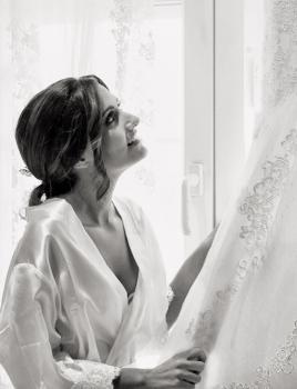 vestido de la novia boda en