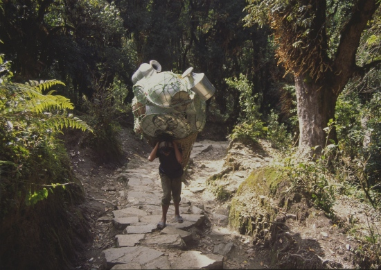 Nepal. Transporte