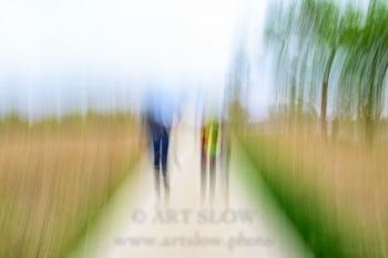 Buscando la Senda Personal - Mig de dos rius, Sant Pere Pescador, Parc Natural dels Aiguamolls de l'Empordà, Girona, Catalunya. Edición: 10/10 + 2P/A