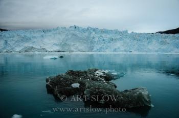 Huella de Glaciar - Glaciar Eqip Sermia, Greenland. Edición: 10/10 + 2P/A