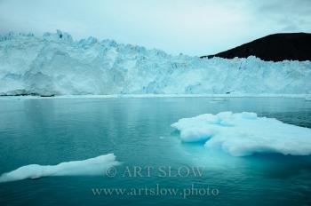 Tiempo congelado - Glaciar Eqip Sermia, Greenland. Edición: 10/10 + 2P/A