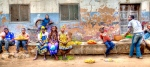 vendedores  ambulantes, Ntutupue- Cabo Delgado