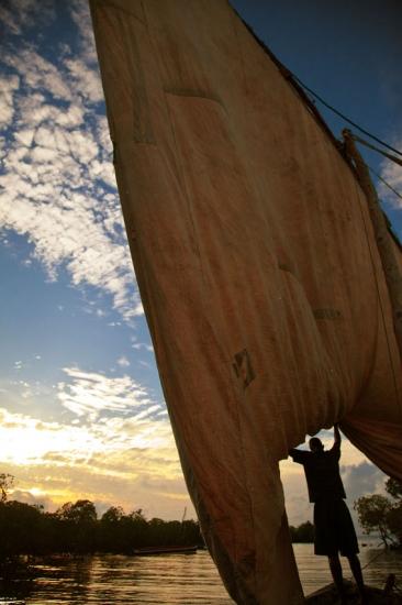 Entre las islas de Ulo y nonge- Archipiélago de las Quirmbas
