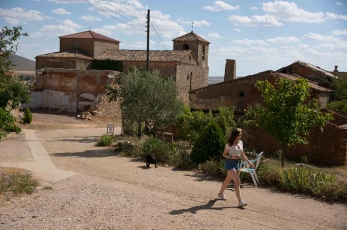 Soria quiere futuro. Castejón del Campo. Sillas
