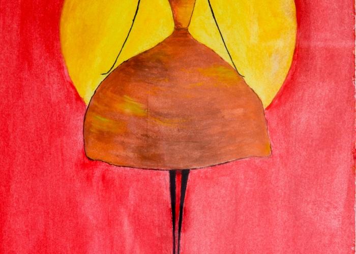 Título: Bailarina  Técnica: Acuarela  Dimensiones: 21 cm x 29 cm.  Material/soporte: Lámina  Precio: