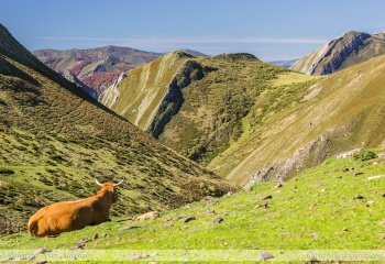 Desde la Mesa hacia valle de Saliencia - Somiedo