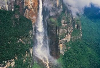 Cascada más alta del mundo: Salto Ángel - Venezuela