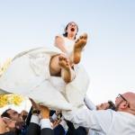 ¡Novia al cielo! © Booda Fotografía