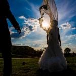 El velo de la novia. © Booda Fotografía