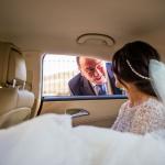 La novia y el padrino. © Booda Fotografía