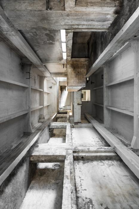 space in concrete