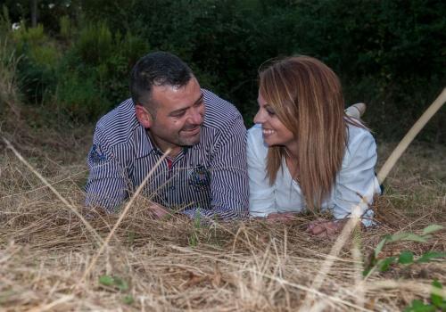Ramón y Ana Belén, preboda