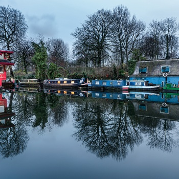 Evening in Regent's Canal
