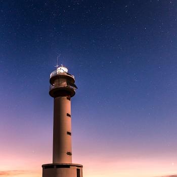 Cassiopeia's lighthouse (30 x 45cm)