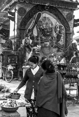 Kal Bhairav, the demon