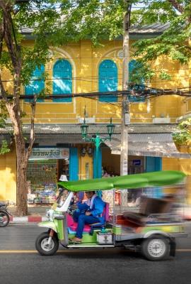 Tuk Tuk in Bangkok | Travel Photography, Dani Vottero | Thailand