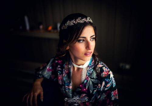 Artesano de la Luz - Fotografia de boda - La belleza de la novia