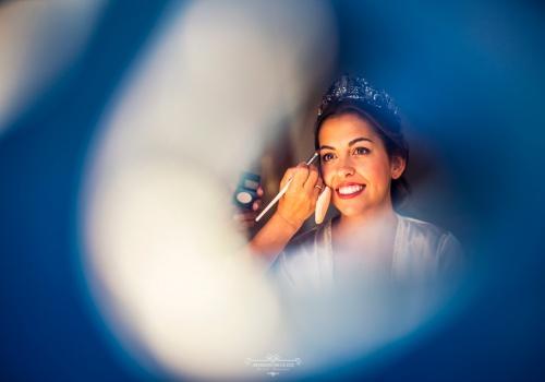 Artesano de la Luz - Fotografia de boda - detalle maquillaje de la novia