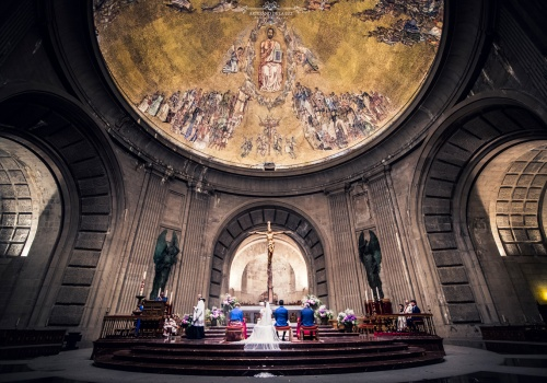 Artesano de la Luz - Ceremonia de boda en la basílica Del Valle de los Caídos