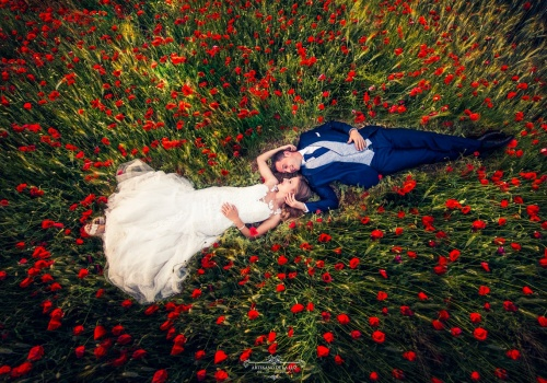 Artesano de la Luz - Postboda de primavera con amapolas