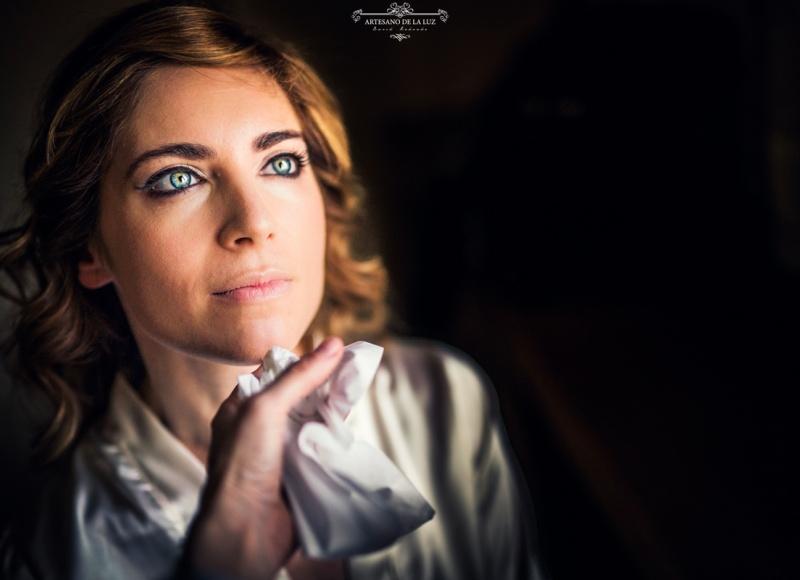 Artesano de la Luz - Fotografia de boda - maquillaje de la novia