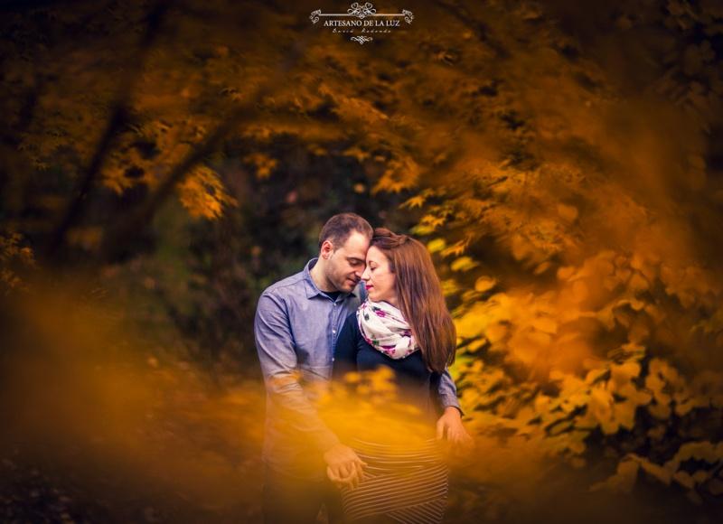 Artesano de la Luz - Sesión de preboda con colores de otoño