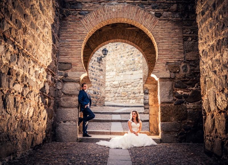Artesano de la Luz - Postboda en Toledo