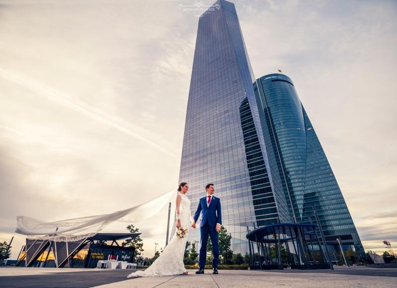 Artesano de La Luz - Sesión de boda en las 4 torres